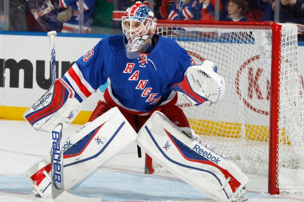 Lundqvist understudy Cam Talbot: who said having too many elite goaltenders was a bad thing?